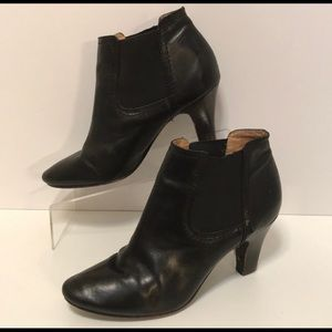 Classic black booties